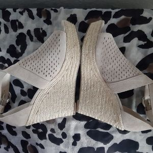 Marc Fisher Espadrille Ankle Strap Sandals